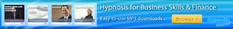 Business Skills and Finance hypnosis MP3 downloads